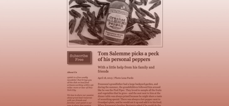 150ish Salemme Pepper Article